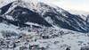 Ort Pettneu im Winter