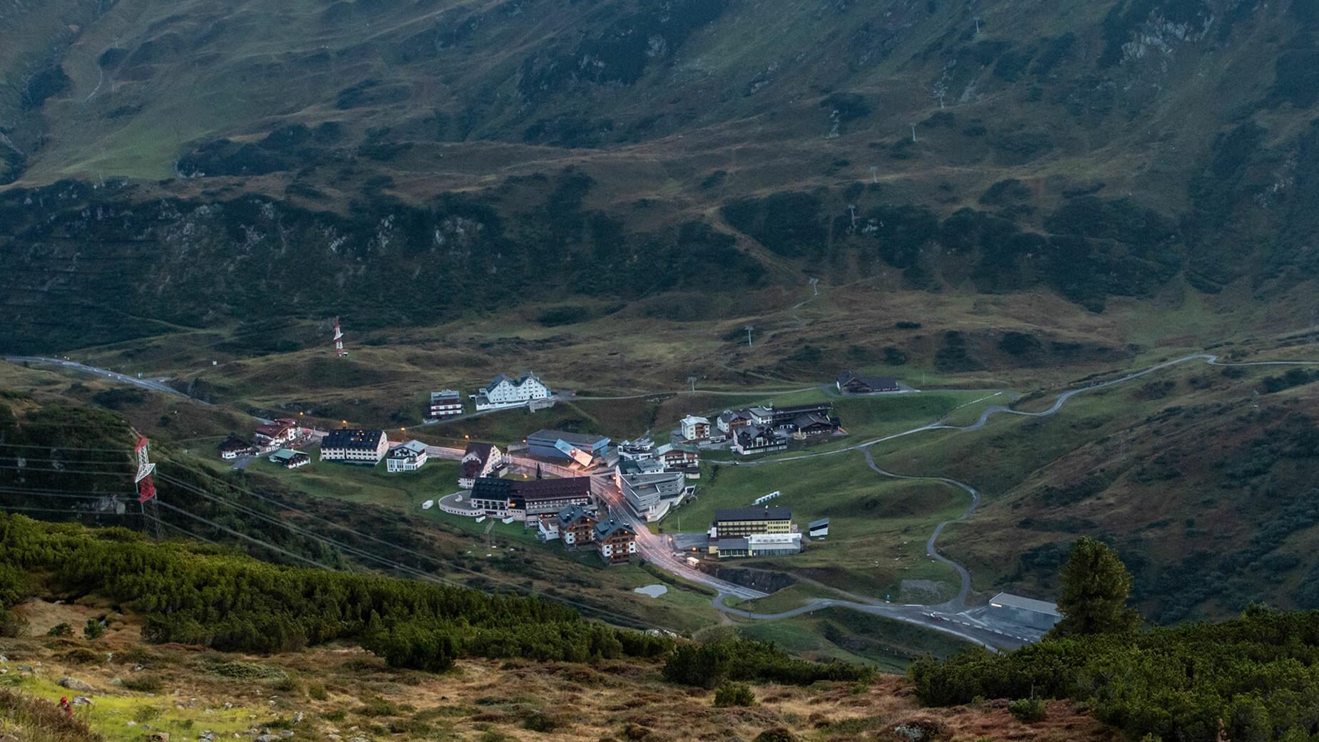 St. Christoph am Arlberg im Sommer
