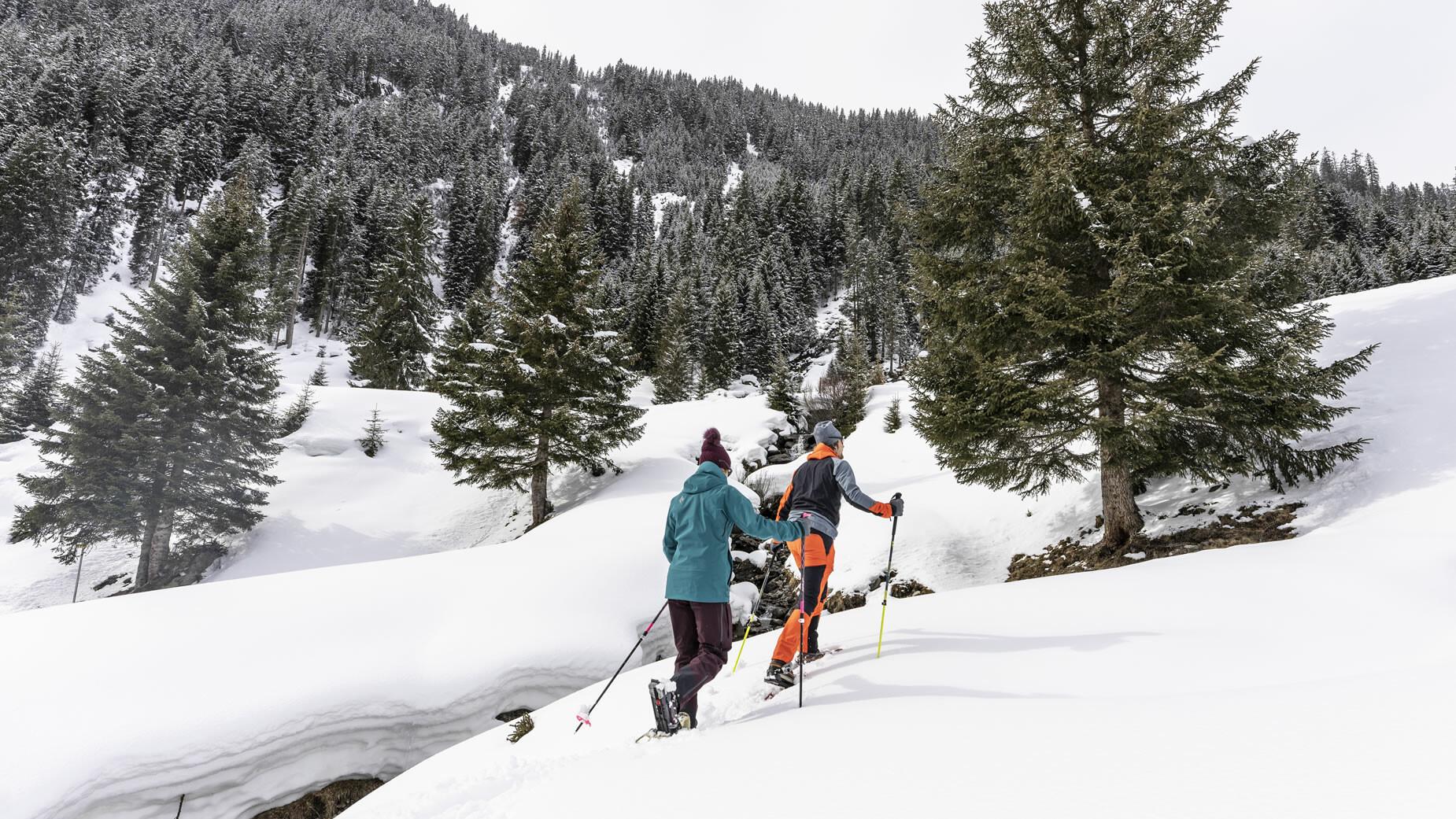 Winter- und Schneeschuhwandern in der Urlaubsregion St. Anton am Arlberg