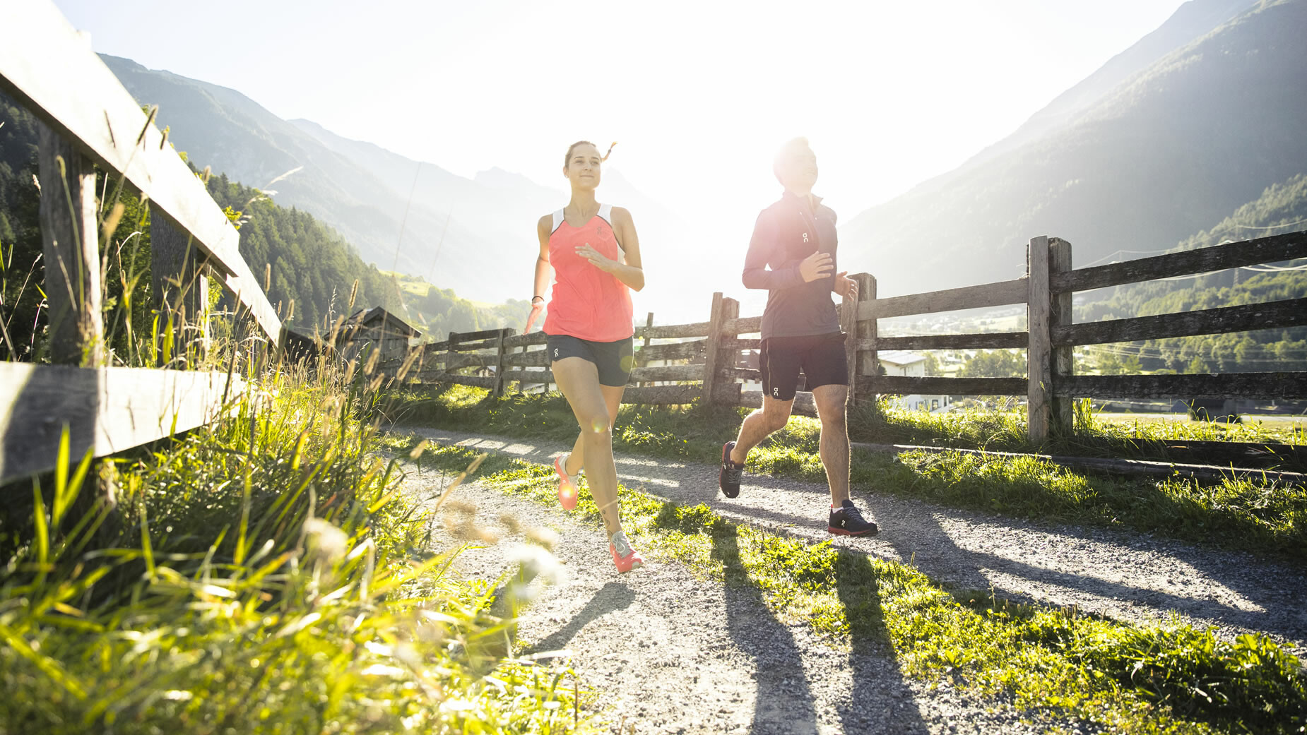 Laufen in St. Anton am Arlberg