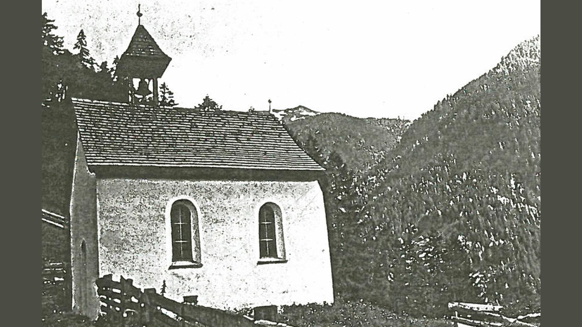 Historisches Bild von Antoniuskapelle