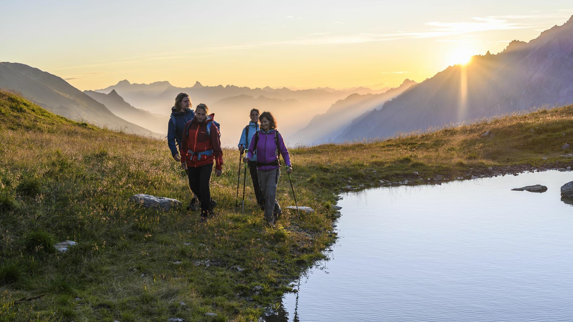 Wandern rund um St. Anton am Arlberg