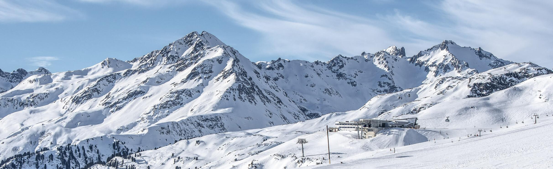 St. Anton am Arlberg - Panorama Galzig
