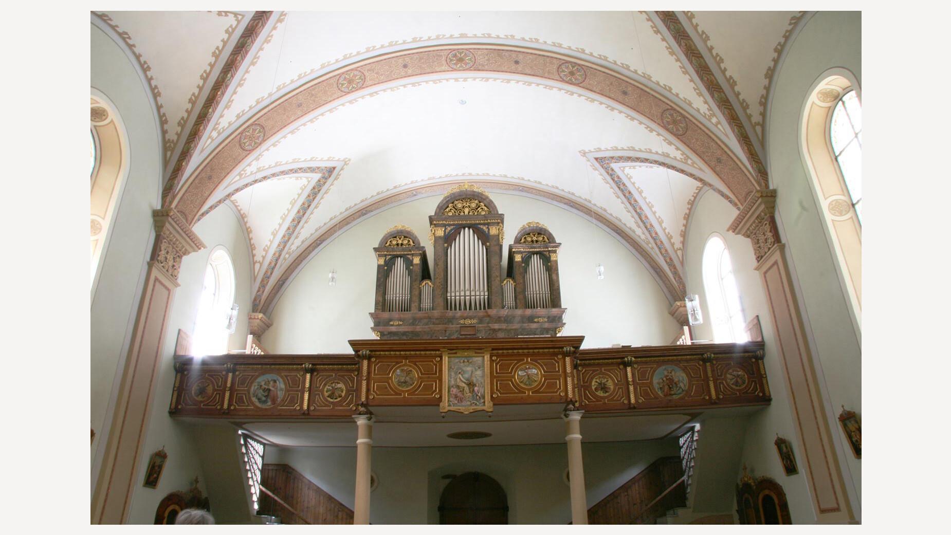 Orgel in Laas, Südtirol